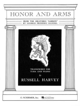 Honor and Arms (from Samson): Tuba in C B.C. and Piano (HL-50282070)