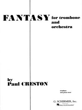 Fantasy, Op. 42: Trombone and Piano Reduction Score and Parts (HL-50285630)