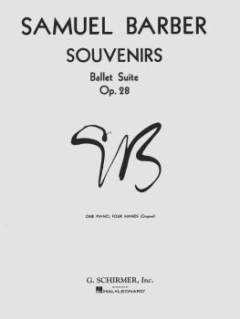 Souvenirs Ballet Suite, Op. 28 (Original): National Federation of Musi (HL-50286370)