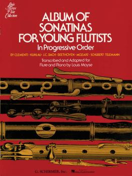 Album of Sonatinas for Young Flutists: In Progressive Order for Flute  (HL-50329250)