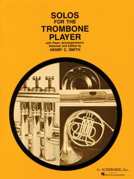 Solos for the Trombone Player: Trombone and Piano Book Only (HL-50330090)
