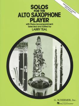 Solos for the Alto Saxophone Player (Alto Sax and Piano) (HL-50330580)