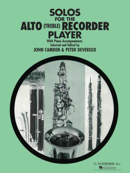 Solos for the Alto Recorder Player (for Alto Recorder & Piano) (HL-50331960)
