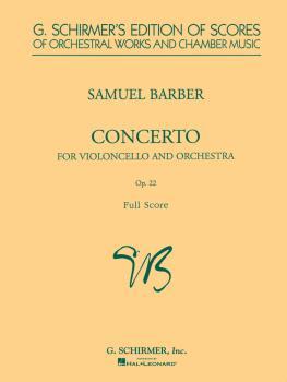 Cello Concerto, Op. 22 (Study Score) (HL-50339240)