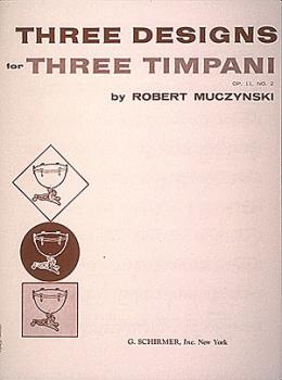 Designs for 3 timpani, Op. 11, No. 2 (One Player) (HL-50353570)