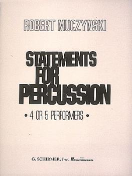 Statements for Percussion (Score) (HL-50361920)