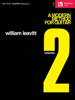 A Modern Method for Guitar - Volume 2 (Guitar Technique) (HL-50449410)