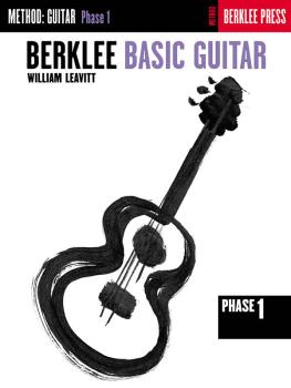Berklee Basic Guitar - Phase 1 (Guitar Technique) (HL-50449460)