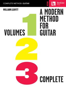 A Modern Method for Guitar - Volumes 1, 2, 3 Complete (HL-50449468)