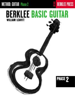 Berklee Basic Guitar - Phase 2 (Guitar Technique) (HL-50449470)