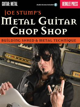Metal Guitar Chop Shop: Building Shred & Metal Technique (HL-50449601)