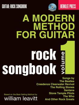 A Modern Method for Guitar Rock Songbook (HL-50449624)