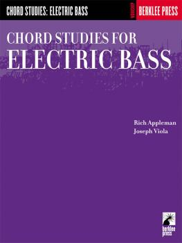 Chord Studies for Electric Bass (Guitar Technique) (HL-50449750)