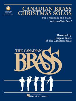 The Canadian Brass Christmas Solos - Trombone (with recordings of perf (HL-50482489)