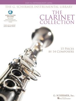 The Clarinet Collection: Easy to Intermediate Level 15 Pieces by 14 Co (HL-50486135)