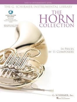 The Horn Collection - Easy to Intermediate Level: G. Schirmer Instrume (HL-50486136)