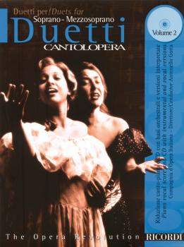 Duets for Soprano/Mezzosoprano - Volume 2 (Cantolopera Series) (HL-50486422)