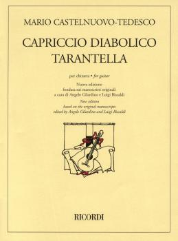 Capriccio Diabolico and Tarantella: New Edition for Solo Guitar (HL-50486430)
