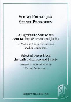 8 Pieces from Romeo and Juliet (for Viola and Piano) (HL-50486768)