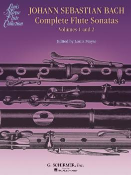 Bach Complete Flute Sonatas - Volumes 1 and 2 (HL-50486831)