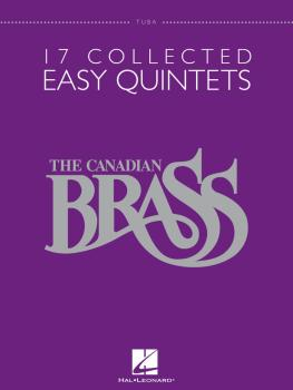 17 Collected Easy Quintets (Tuba B.C.) (HL-50486952)