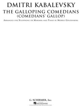 The Galloping Comedians (Comedian's Gallop): Xylophone or Marimba and  (HL-50490097)