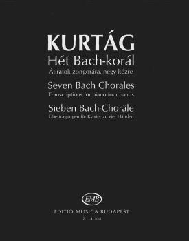 Seven Bach Chorales (Transcriptions for Piano, 4 Hands) (HL-50490185)