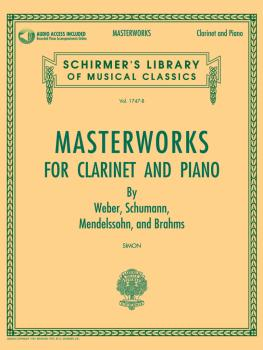 Masterworks for Clarinet and Piano: Schirmer's Library of Musical Clas (HL-50490449)