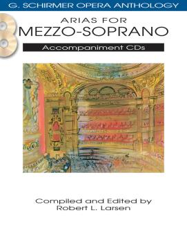 Arias for Mezzo-Soprano: G. Schirmer Opera Anthology Accompaniment CDs (HL-50490484)
