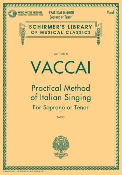 Practical Method of Italian Singing: Soprano or Tenor, Book/Online Aud (HL-50498713)
