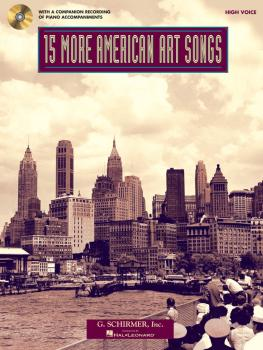 15 More American Art Songs: High Voice With a CD of Piano Accompanimen (HL-50498730)