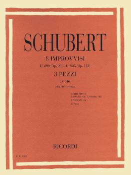 8 Impromptus, D. 899 (Op. 90) and D. 935 (Op. 142), and 3 Pieces, D. 9 (HL-50498767)
