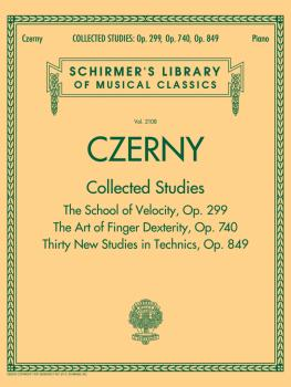 Czerny: Collected Studies - Op. 299, Op. 740, Op. 849: Schirmer's Libr (HL-50499876)