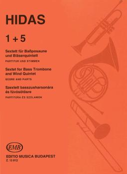 1 + 5 - Sextet for Bass Trombone & Wind Quintet (HL-50510256)