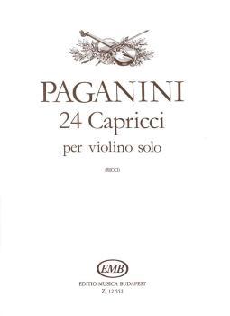 24 Capricci, Op. 1 (Violin Solo) (HL-50510856)