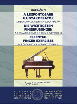 Essential Finger Exercises (Piano) (HL-50511291)