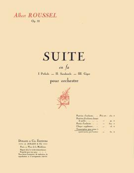 Suite in F, Op. 33 (1 Piano 4 Hands) (HL-50561305)