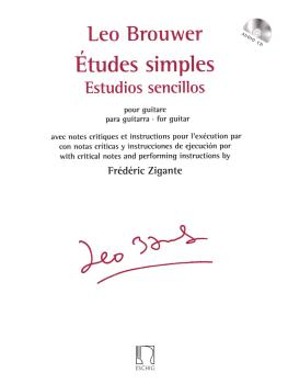 Études simples for Guitar (with Critical Notes and Performance Instruc (HL-50565810)
