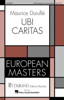 Ubi Caritas: European Masters Series (HL-50600000)