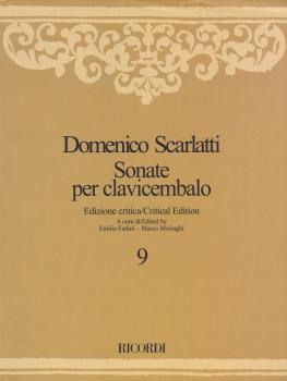 Sonate per Clavicembalo Volume 9 Critical Edition: Sonatas for Harpsic (HL-50600627)