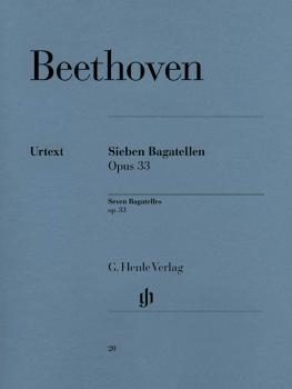 7 Bagatelles Op. 33 (Piano Solo) (HL-51480020)