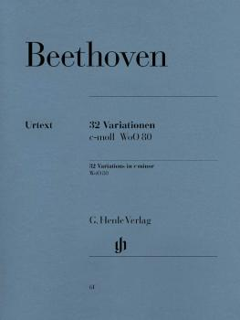 32 Variations C Minor WoO 80 (Piano Solo) (HL-51480061)