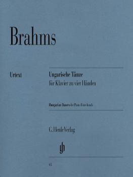 Hungarian Dances 1-21 (1 Piano, 4 Hands) (HL-51480068)