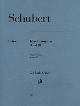 Piano Sonatas - Volume III (Early and Unfinished Sonatas) (Piano Solo) (HL-51480150)