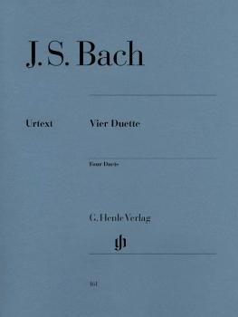 4 Duets BWV 802-805 (Piano Solo) (HL-51480161)