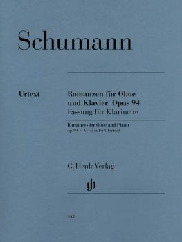 Romances for Oboe and Piano, Op. 94: Version for Clarinet & Piano with (HL-51480442)