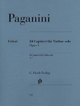 24 Capricci Op. 1 (Violin Solo) (HL-51480450)
