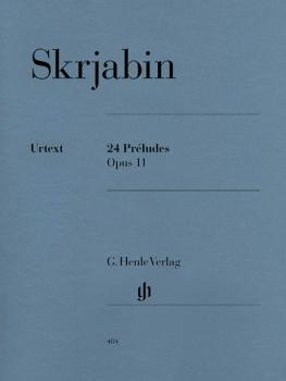 24 Preludes Op. 11 (Piano Solo) (HL-51480484)