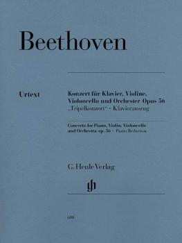 Concerto for Piano, Violin, Violoncello, and Orchestra C Major Op. 56  (HL-51480610)
