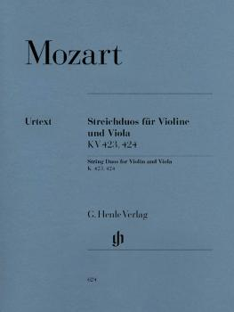 String Duos for Violin and Viola K423, 424 (HL-51480624)